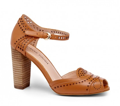 Julianne Hough for Sole Society Laser Cut Heel