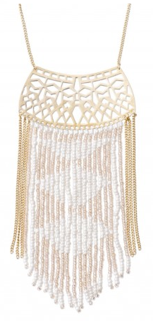 Stella & Dot Avalon Fringe Necklace {on sale!}