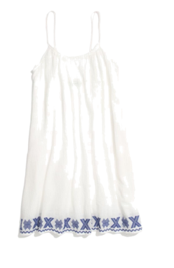 Madewell Embroidered Siesta Cover-Up