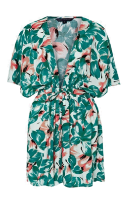 French Connection Angela Floral Cover-Up