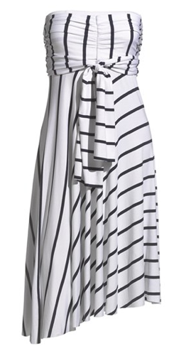 Stripe Convertible Cover-Up Dress