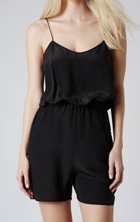 Topshop Strappy Playsuit