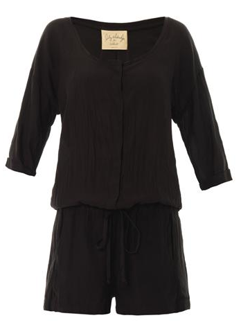 Velvet by Graham & Spencer 3/4 length sleeve Romper
