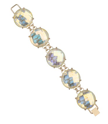 Kendra Scott Cassie Bracelet in Clear Iridescence {I just picked this up yesterday and can't wait to wear it!}