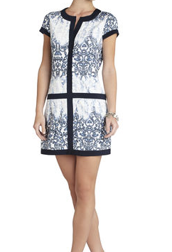 BCBG Daly V-Neck Shirtdress
