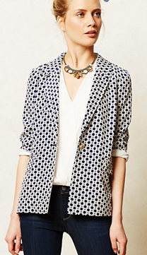 Anthropologie Southmark Blazer