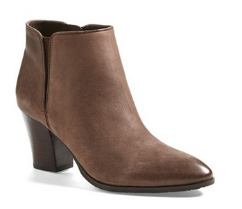 Franco Sarto Leather Bootie