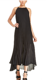 Pleats in the form of a fab LBD