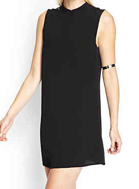 Forever 21 Funnel Neck Swing Dress, $17.80