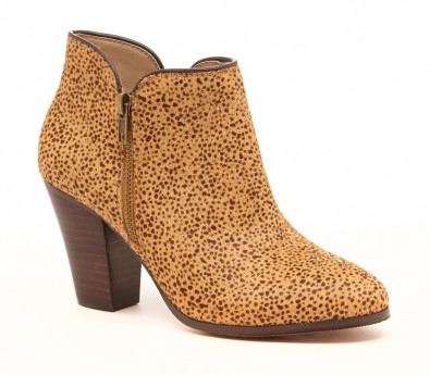 My leopard weakness coming full circle... The Chelsea Bootie in Tan