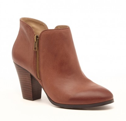 "This ""Bourbon"" color is the PERFECT shade of tan... The Chelsea Bootie in Bourbon"