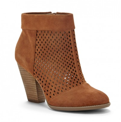 Last but not least, the Perforated Bootie...The Sidney in Light Luggage