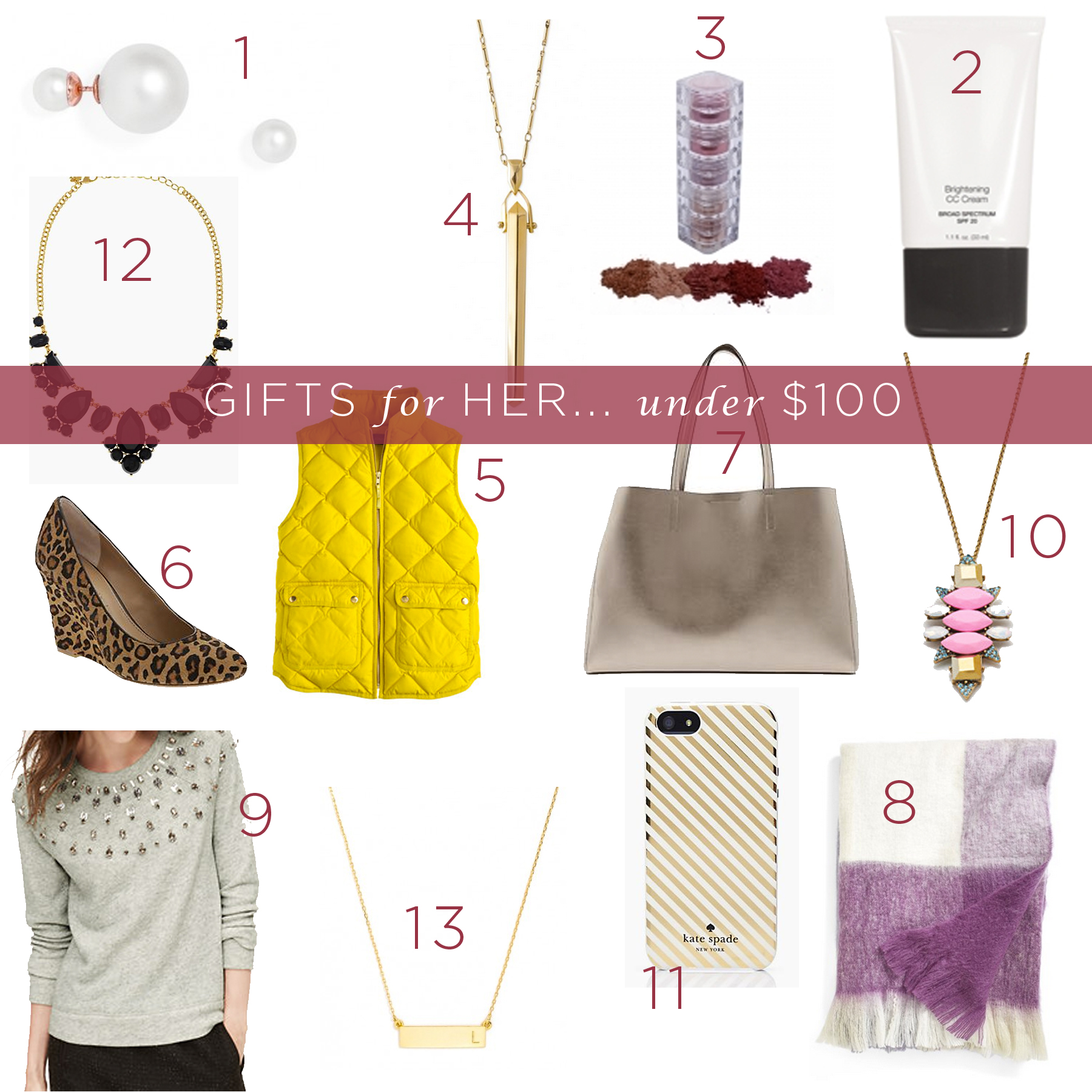 gifts for her under 100