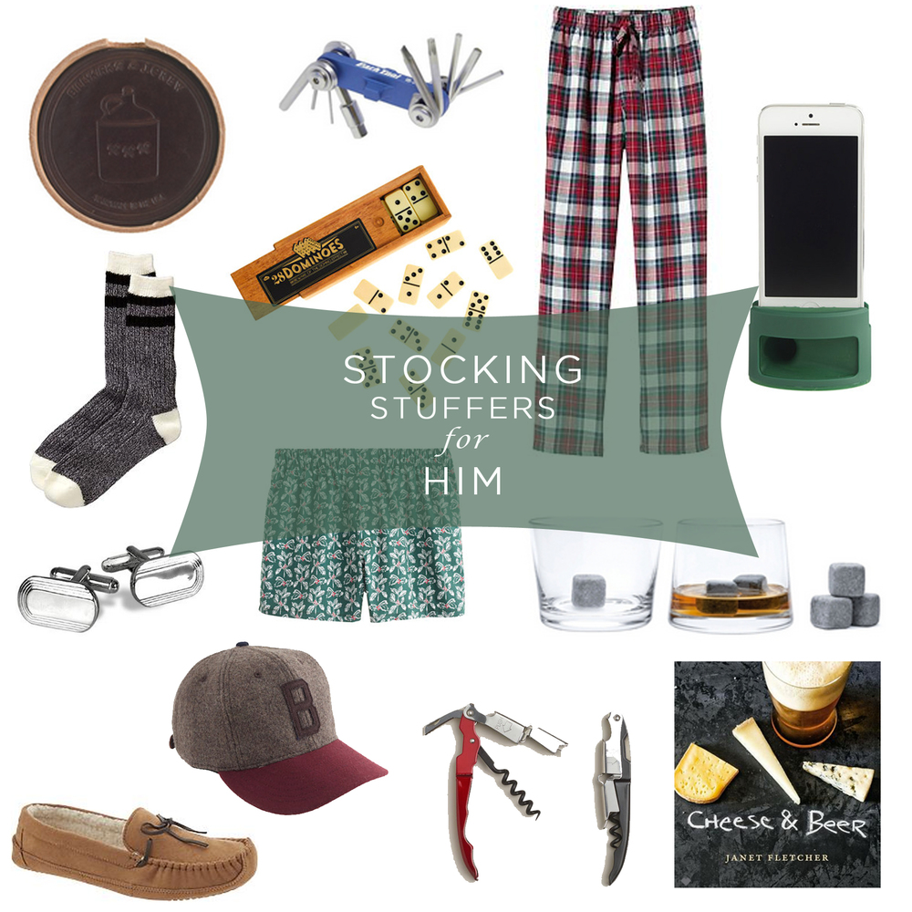 stuff his stocking with style — LIFEstyled