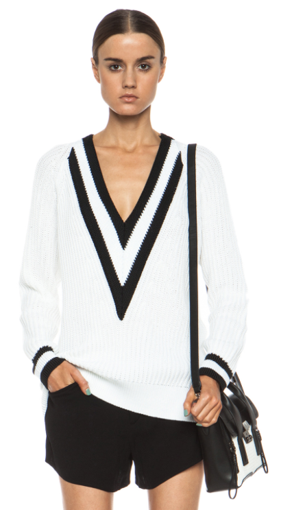 Rag & Bone Talia V-Neck Sweater, $395