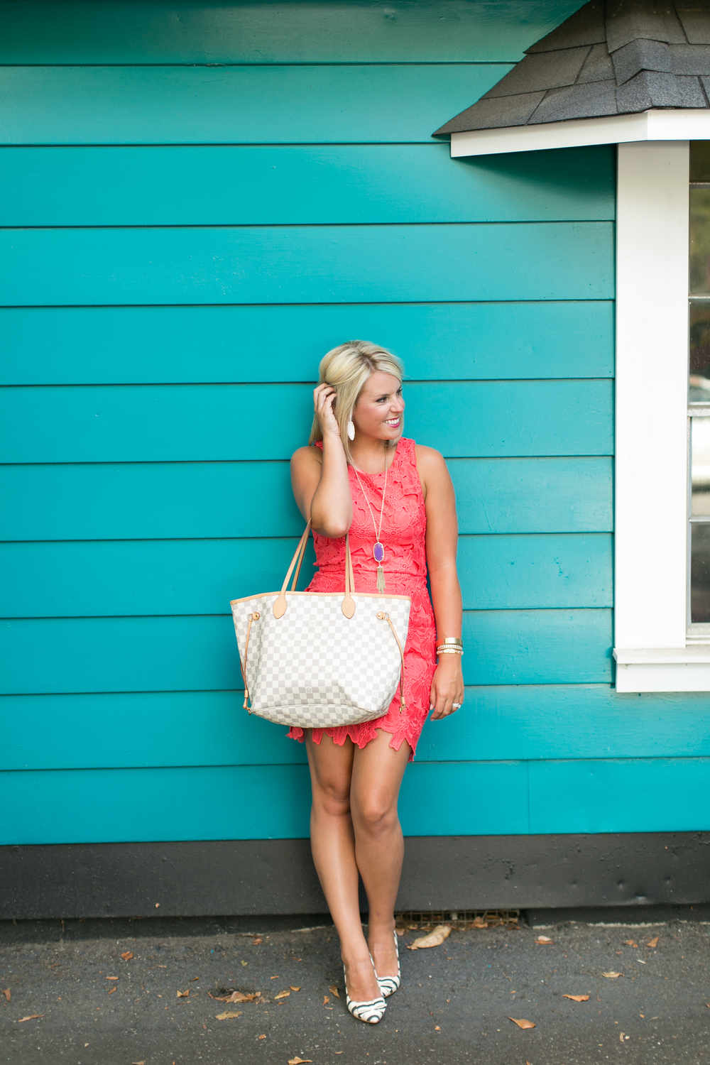 lifestyled atlanta petal dress