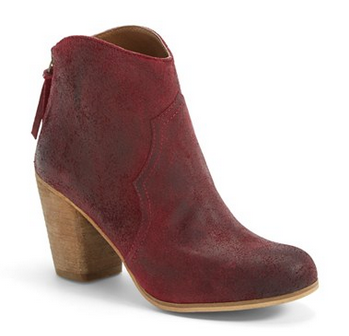 BP 'Trott' Bootie in Burgundy... under $80!