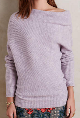 Anthropologie Draped Sweater