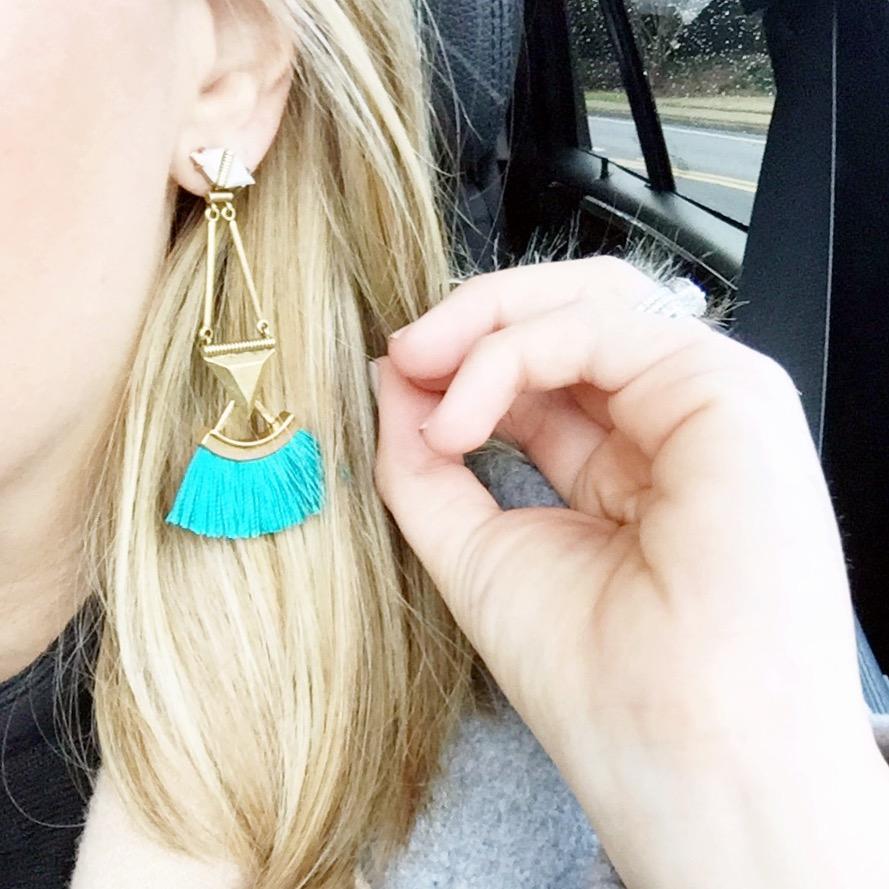 Lotus Tassel Chandelier Earrings Wear Them Multiple Ways