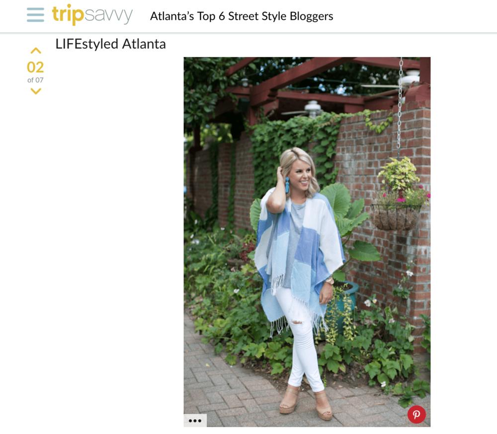Trip Savvy : Atlanta's Top 6 Street Style Bloggers