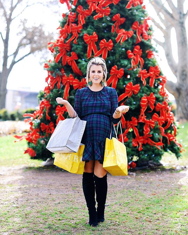 On the blog today {better late than never!} : sharing the perfect holiday dress - on SALE! 🙌🏻 & my Gift Guide #1 - Gifts for Her UNDER $50 🎁Stocking stuffers and gifts that are perfect for moms, mother-in-laws, besties, teachers and more. Link in bio! @liketoknow.it http://liketk.it/2yGlx #liketkit #lifestyledatlanta #giftsforher • • • • • #ootd #wiwt #stockingstuffers #ltkunder50 #dressthebump #bumpfriendly #christmasdress #bloggerstyle #36weekspregnant #giftideas #ltksalealert #ltkstyletip #styledbyme #jcrew #ltkbump #holidaydress #ltkunder100 #otkboots #christmasgifts #uniquechristmasgifts #fblogger #ontheblog #newpost