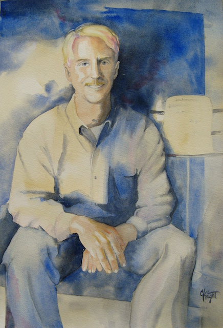 A commissioned portrait of a Henderson County resident.