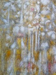 Golden Dawn, 1952,  by Richard Pousette-Dart
