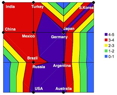 Figure 8: Average income attribute map.