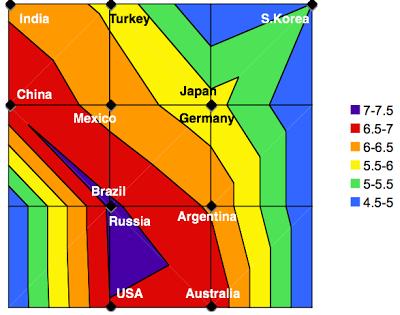 Figure 9: Area attribute map.