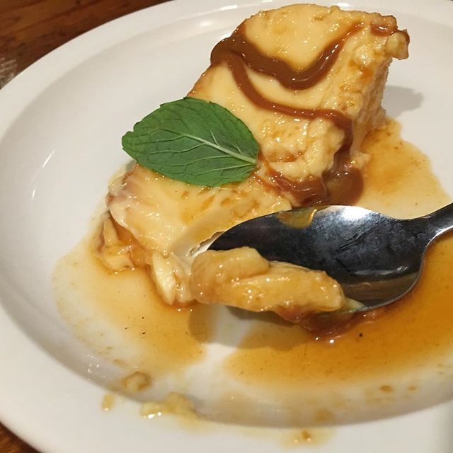 Flan from the soft opening of Buenos Aires Grill--coming soon in the old Juanita's space in the Rivermarket. Yum! #ilovelittlerock