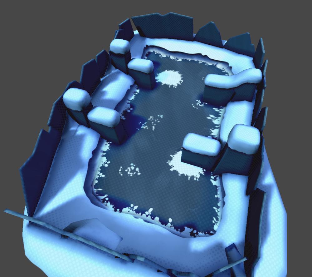 Ice Cave Battle Arena #1 - Unity
