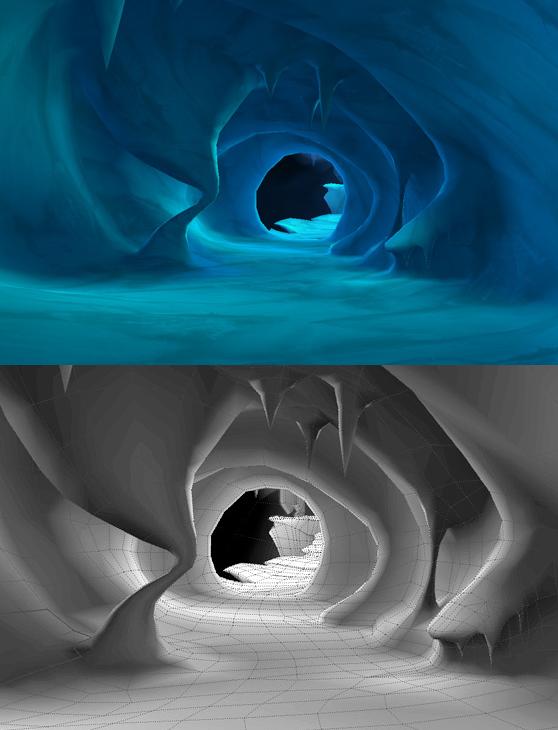Crash Bandicoot: MoM - Ice Cave Level