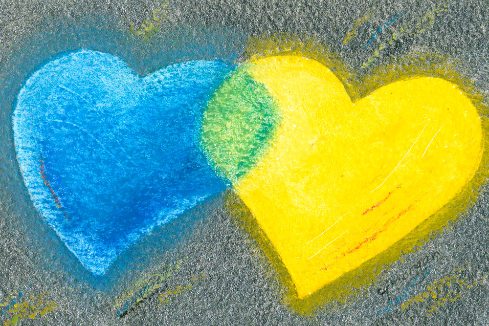 """You Are My Treasure"" - heart painting © 2009 Catherine Jo Morgan. Mixed media painting (acrylic and oil pastel) on Arches 300-lb. watercolor paper, #090016. Signed cjmorgan. Details on purchasing."