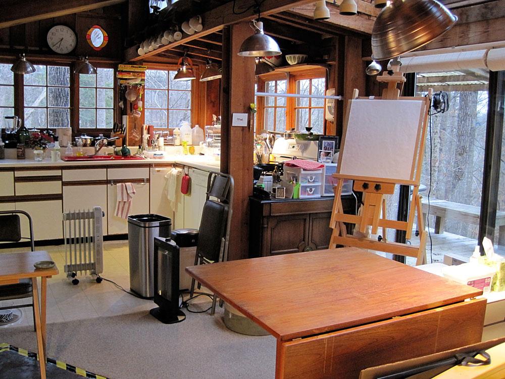 Painting Studio Organizing - Catherine Jo Morgan (CJ Morgan)