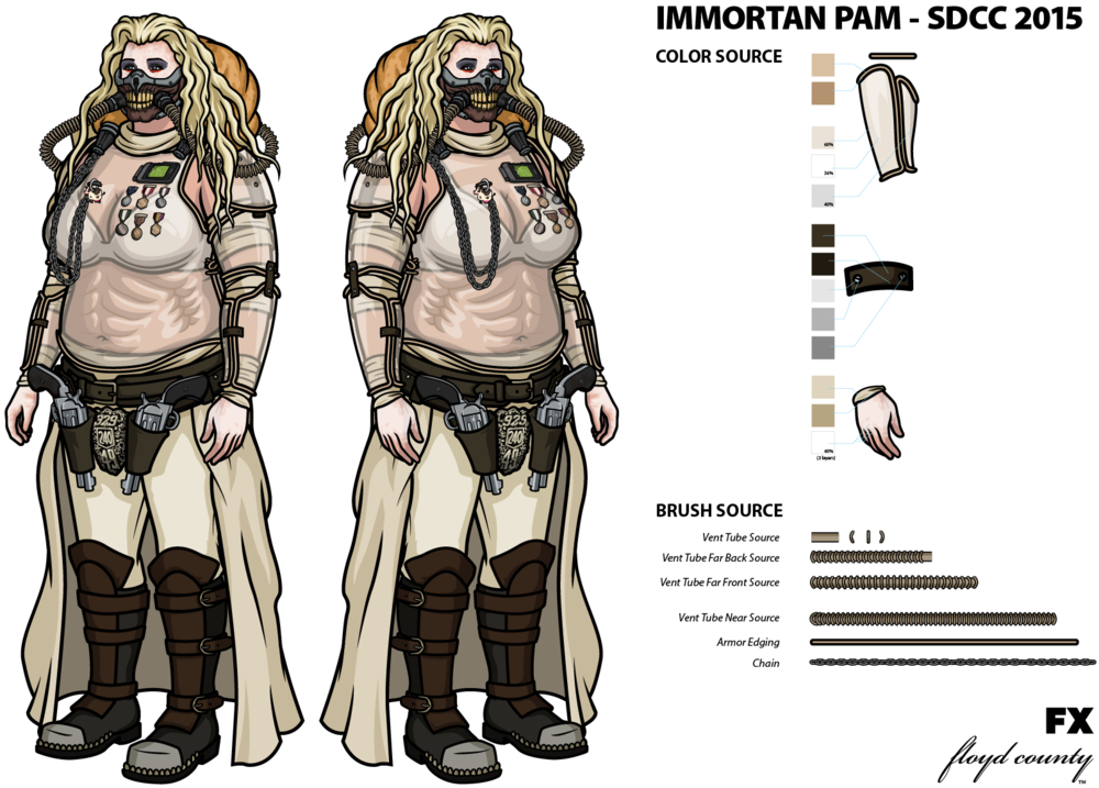 Immortan_Pam_SDCC_2015.png  sc 1 st  Art of Stephen S. & Immortan Pam : SDCC 2015 u2014 Art of Stephen S.