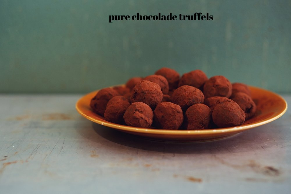 Pure Chocolade Truffels
