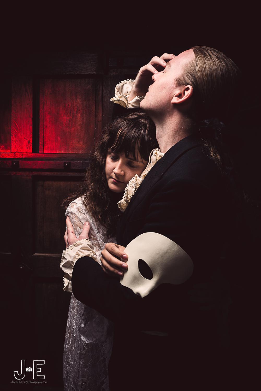 Phantom of the opera photoshoot