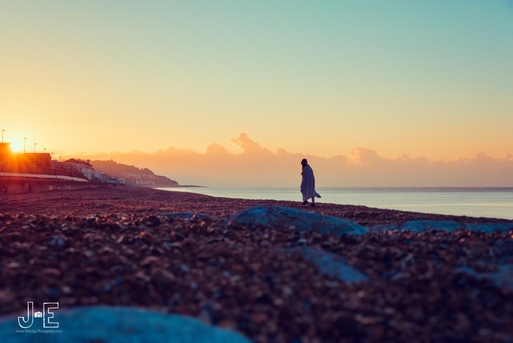 Sandgate beach sunrise