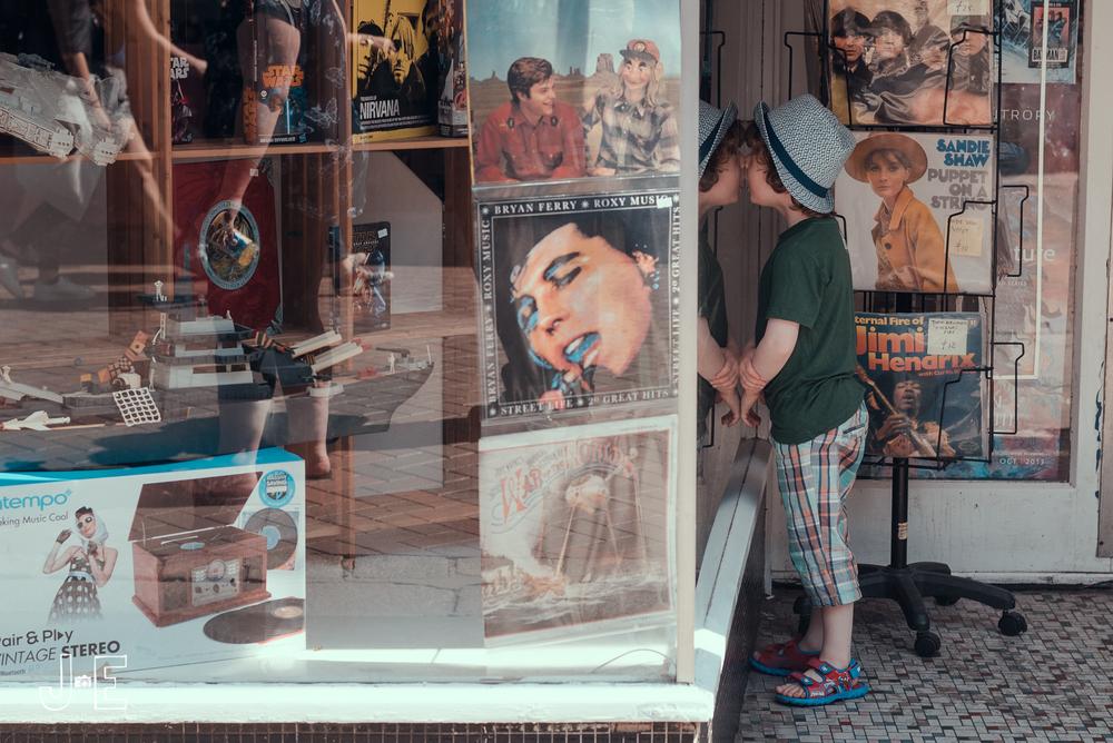 Canterbury comic street photography