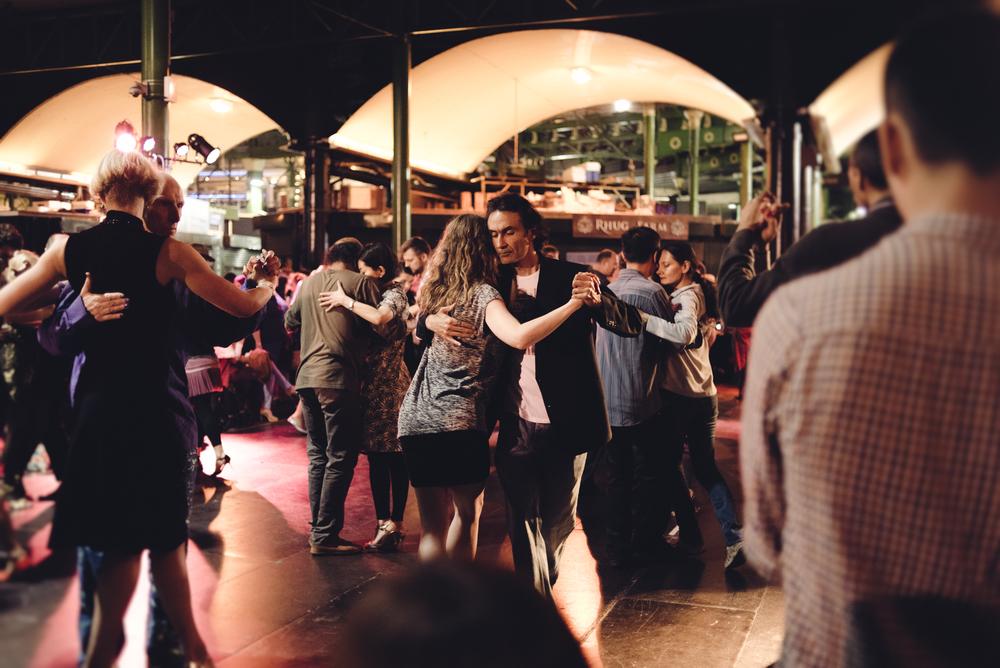 London borough market dancing