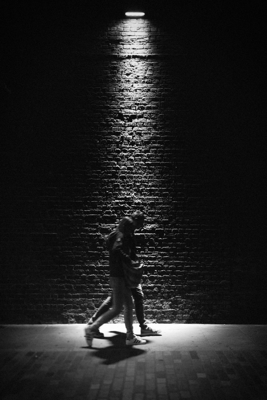 London night life street photography