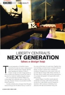 Liberty Central was featured in New Condo Guide Magazine.