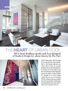 Studio 8 Design is featured in the September 2014 Condo Life Magazine