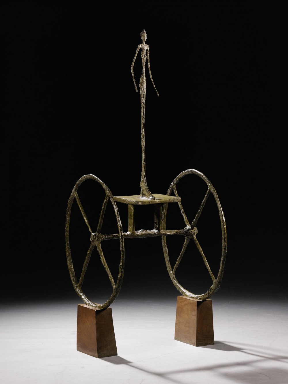 "Giacometti's ""Chariot"" sculpture sold for $101 million"