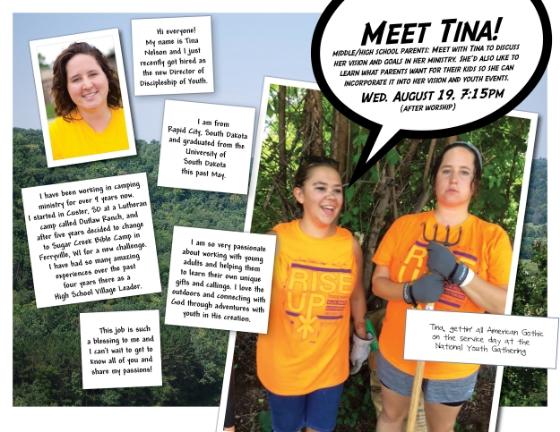 FLC + Meet Tina!