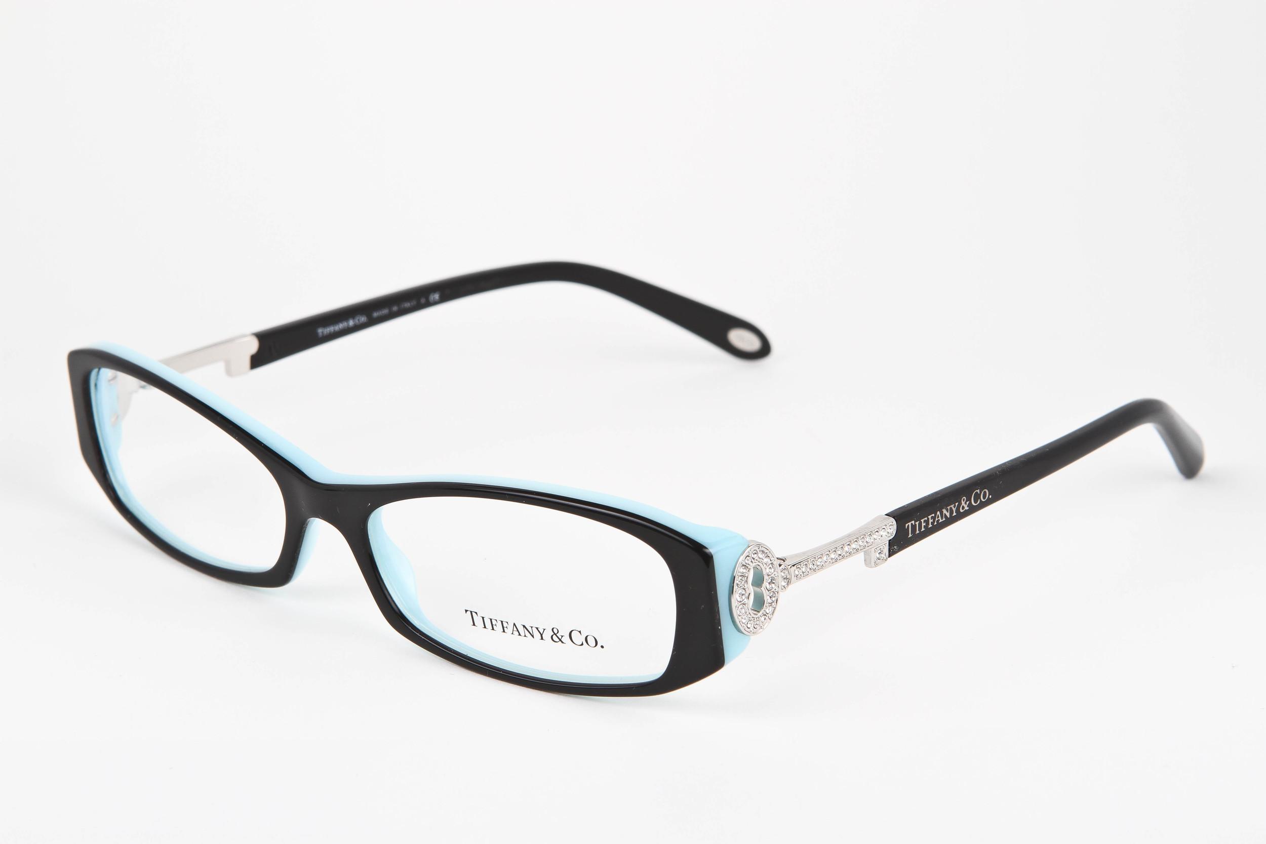 9a7f4fe847 Tiffany   Co. Black and Blue with Diamonds — BFOCUS-EYEWEAR