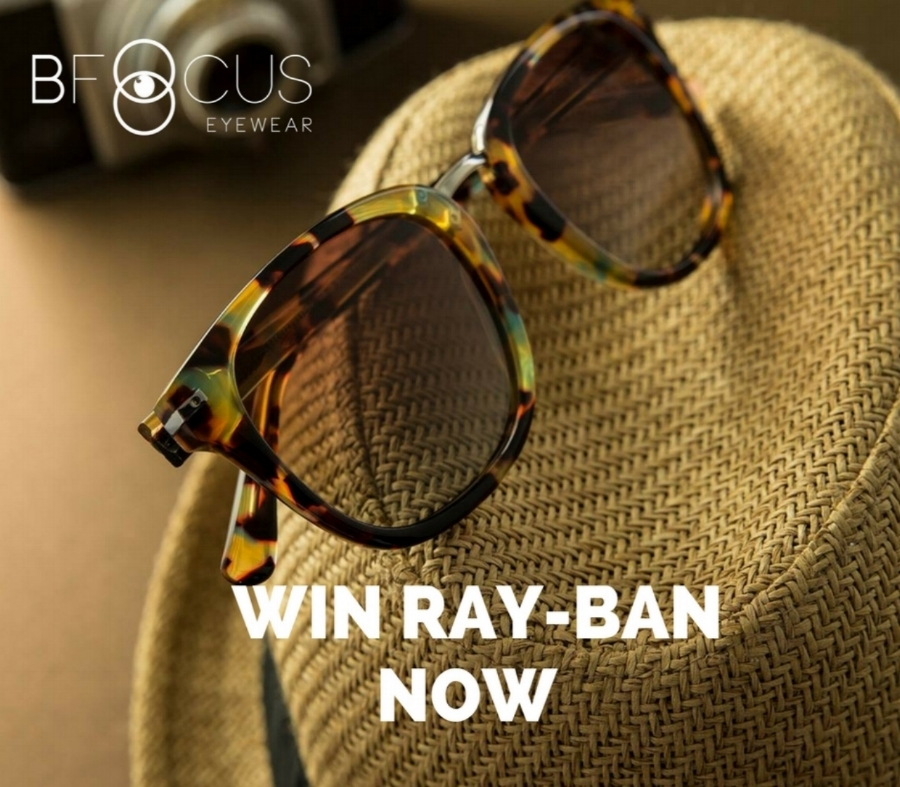 Win you a Ray- Ban - Wouldn't it be great to have a Ray-ban sunglasses collection to match your mood? Here's your chance - we're giving away Ray-ban sunglasses , choose your look in one iconic shape! For your chance to Win just:1. Like and share our Facebook Page2. Follow our Instagram3. Subscribe to our Newsletter to keep up to date with new products and specials.