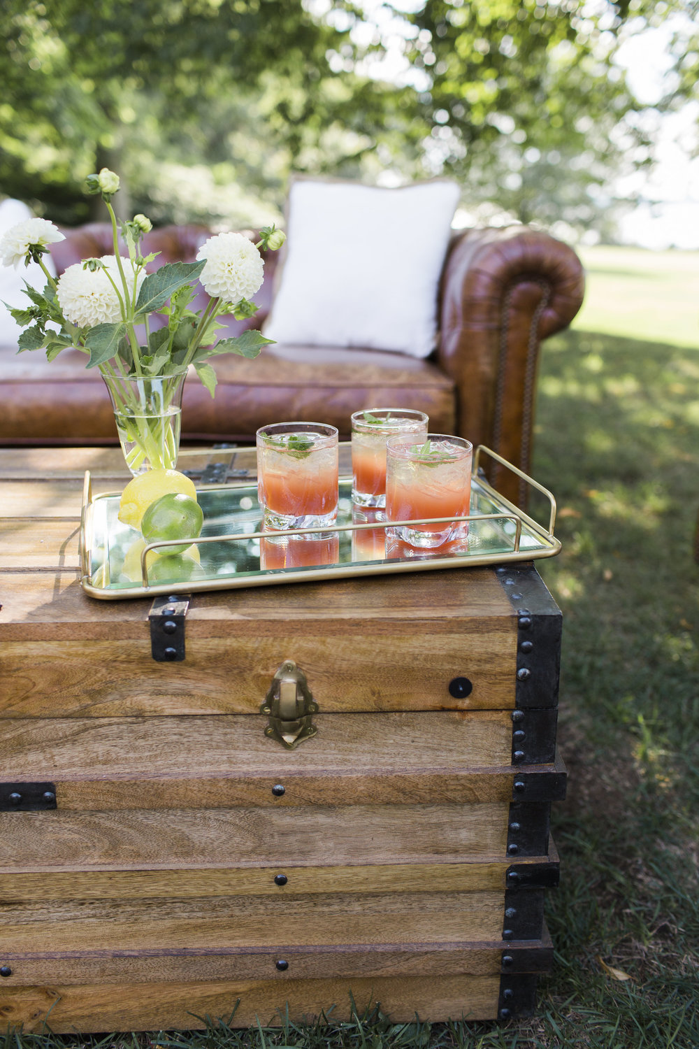 Clean + Elevated Garden Flair at Blithewold Mansion — G L A S S