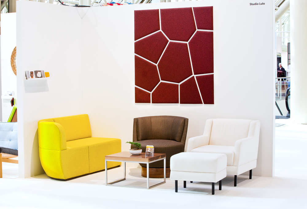 "Area: 60"" x 60""   As seen at the 2015 edition of the Toronto Interior Design Show."