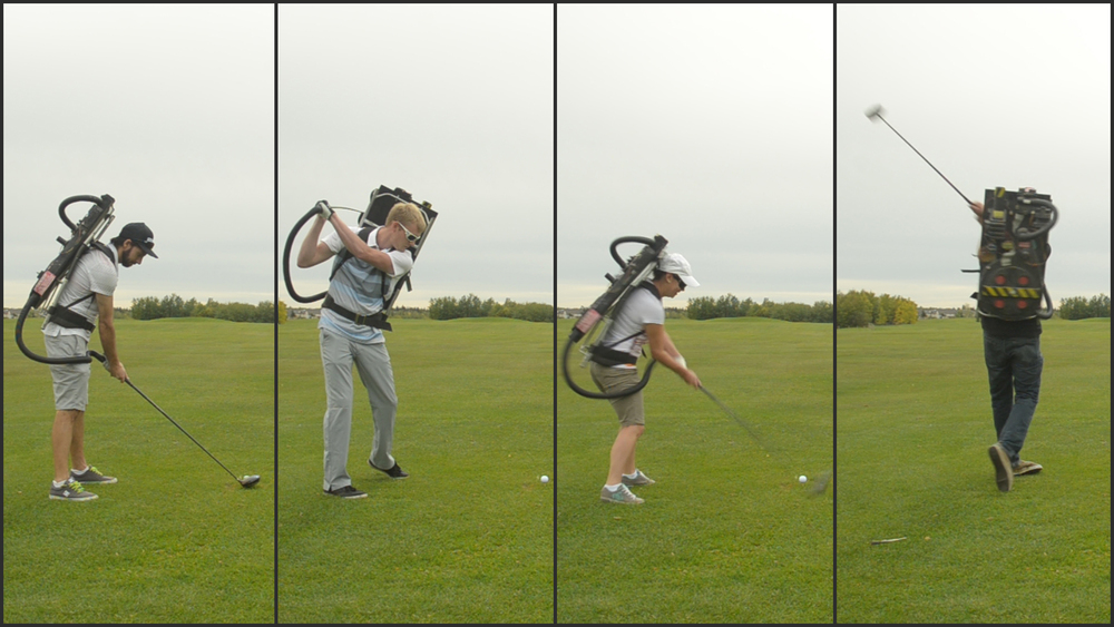 Impress your foursome with the biggest, hardest, longest drives they have ever seen.